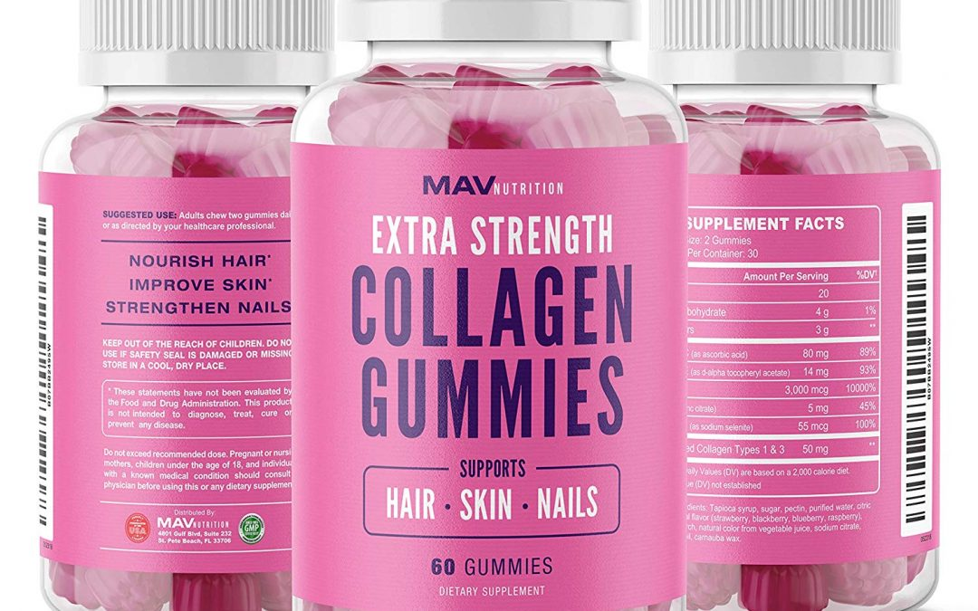 MAV Nutrition Extra Strength Collagen Gummies Review