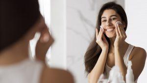 Makeup removing concept