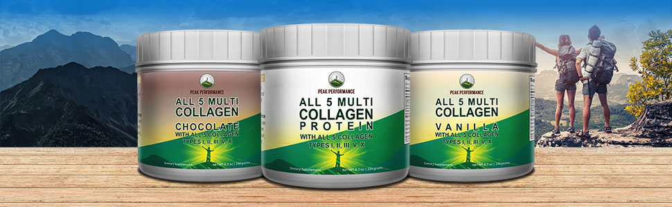 Peak Performance All 5 Multi Collagen Protein Reviews